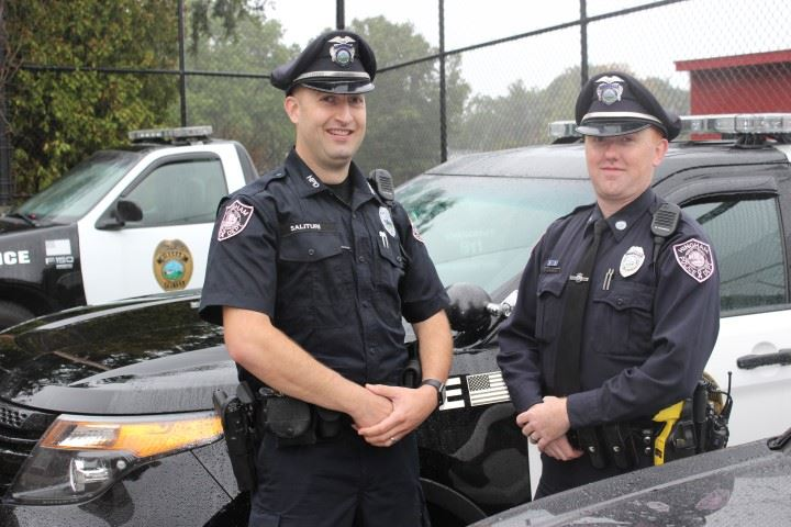 Officers Joel Salituri & Nicholas Smith Pink Patch Project