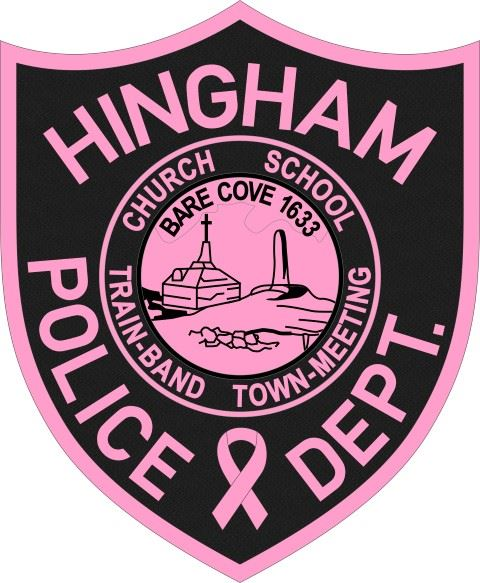 Hingham Police Pink Patch Project