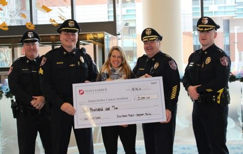 Donation from Pink Patch Sales to Dana-Farber