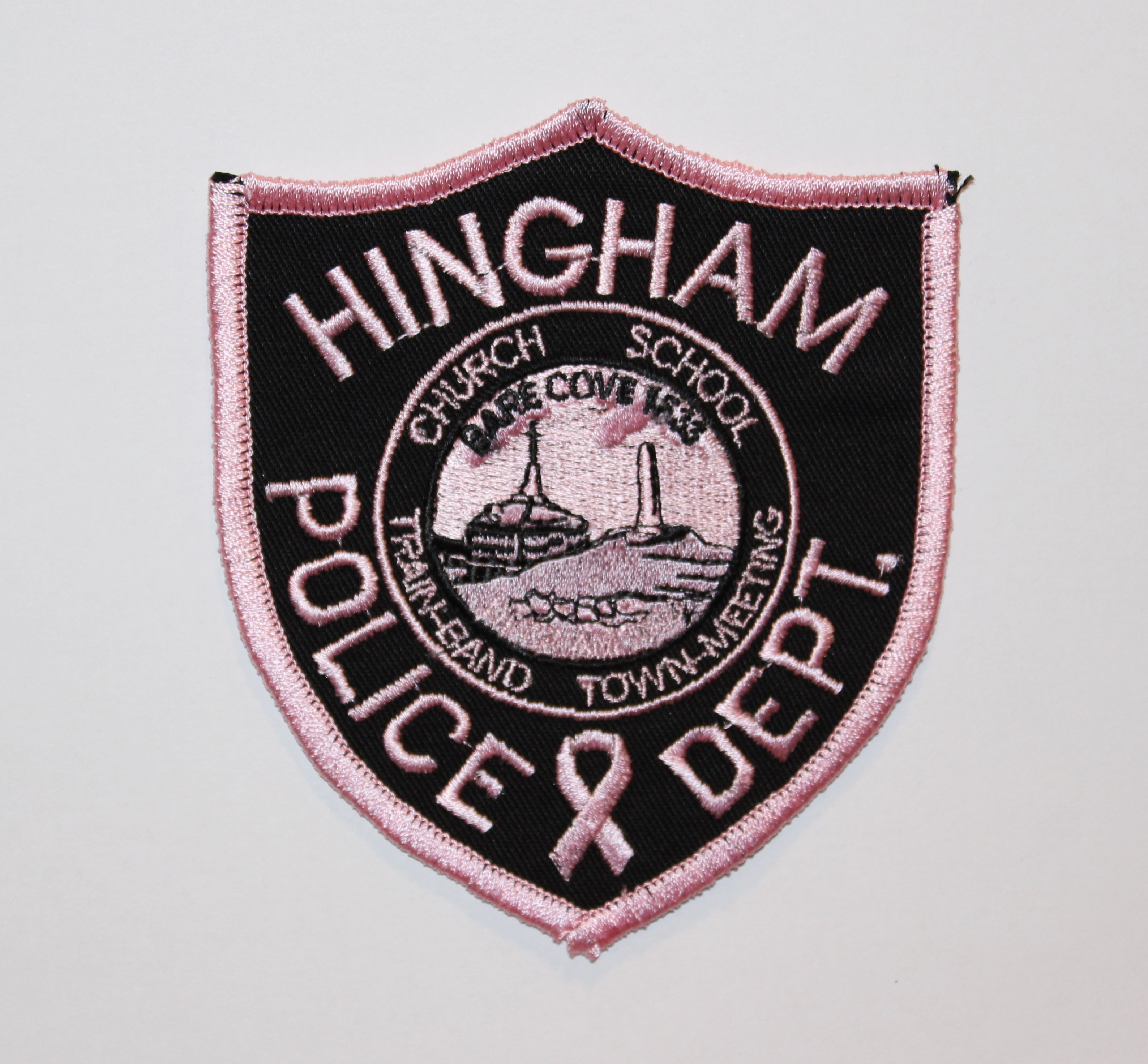 Hingham PD Pink Patch